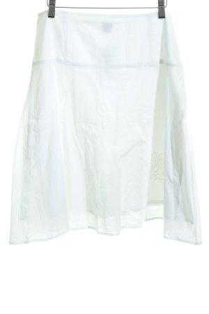 Esprit Falda acampanada blanco look casual