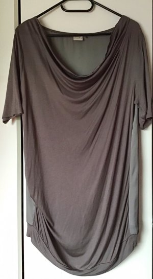 Esprit Cowl-Neck Shirt grey