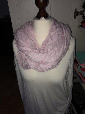 Esprit großer weicher Schal mit Fransen rosa