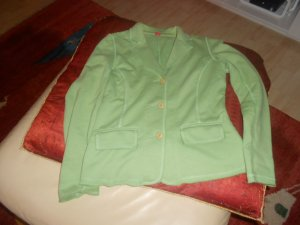 Esprit Sweat Blazer green mixture fibre