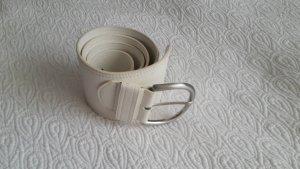 Esprit Waist Belt white-silver-colored polyurethane