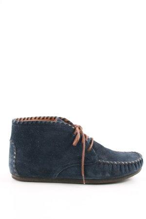 Esprit Halfhoge laarzen blauw casual uitstraling