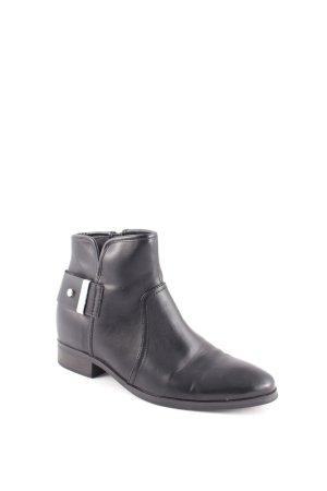Esprit Halbstiefel schwarz-silberfarben Elegant
