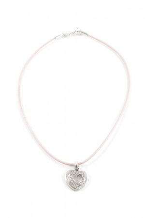 Esprit Necklace pink-silver-colored business style