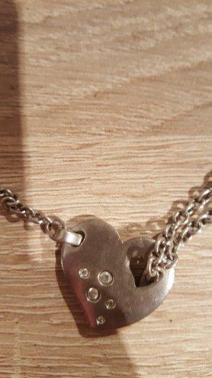 ESPRIT Halskette mit Steinchen