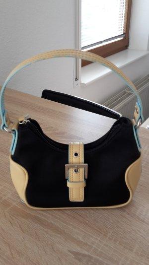 Esprit Handtasche beige/hellblau/schwarz