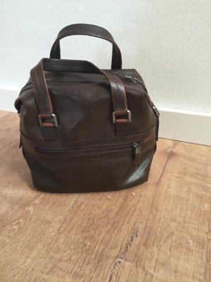 Esprit Handtasche dunkelbraun