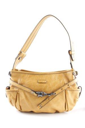 Esprit Handtasche goldorange Casual-Look