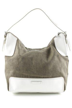 Esprit Handtasche hellbraun-wollweiß klassischer Stil