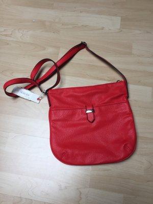 Esprit Handtasche in rot