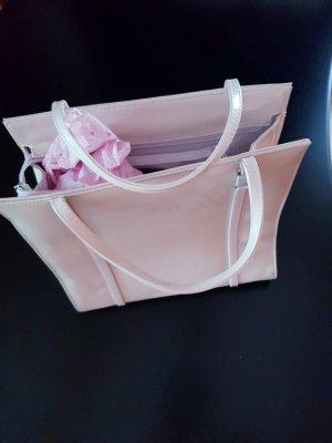Esprit Handtasche, rosa in Lederoptik
