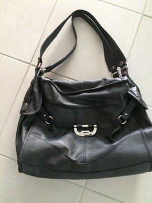 Esprit Handtasche schwarz, gebraucht