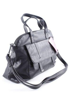 Esprit Handtasche schwarz klassischer Stil