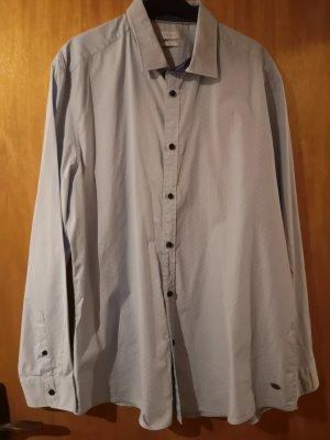 Esprit Camicia elegante bianco-azzurro