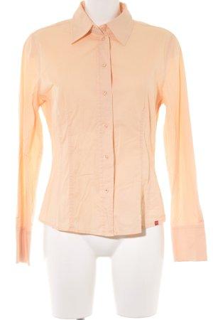Esprit Hemd-Bluse apricot Business-Look