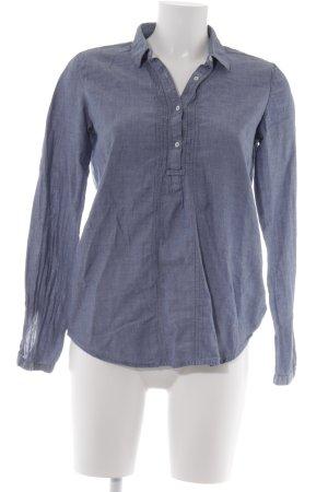Esprit Hemd-Bluse blassblau Casual-Look