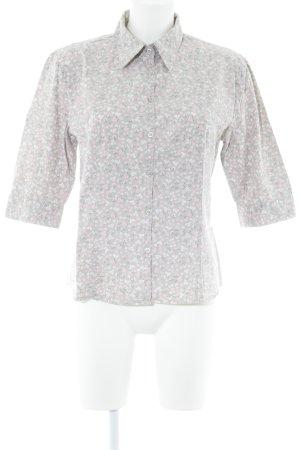 Esprit Hemd-Bluse Blumenmuster Casual-Look