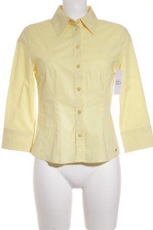 Esprit Hemd-Bluse gelb klassischer Stil