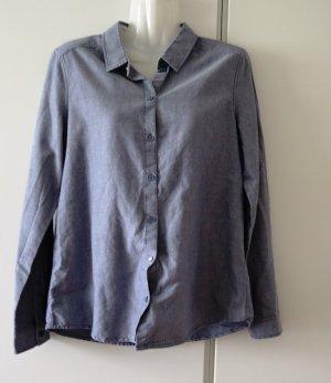 Esprit Hemd Bluse Gr. 38 (S/M) Baumwolle Business Casual Clean Chic
