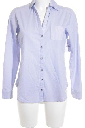 Esprit Hemd-Bluse himmelblau-weiß meliert Business-Look