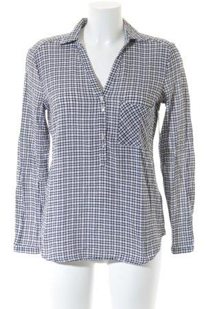 Esprit Hemd-Bluse schwarz-wollweiß Casual-Look
