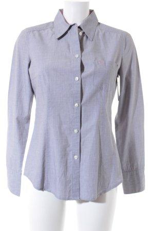 Esprit Hemd-Bluse silberfarben meliert Business-Look
