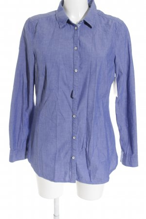 Esprit Hemd-Bluse stahlblau Business-Look
