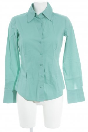 Esprit Hemd-Bluse türkis klassischer Stil
