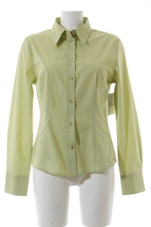 Esprit Hemd-Bluse wiesengrün klassischer Stil