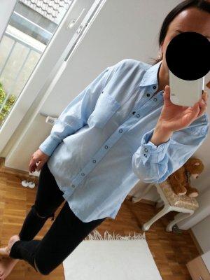 Esprit Hemd Gr.40 Neu blau