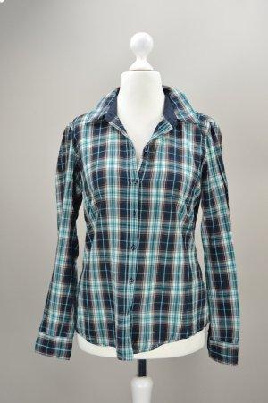 Esprit Hemd Holzfäller blau Größe 36