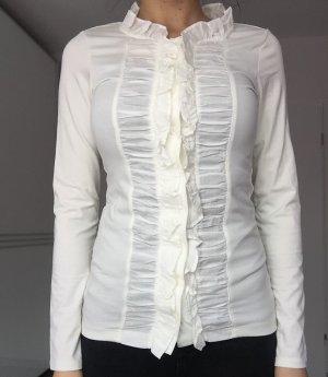 Esprit Hemd in weiß Größe XS, passt auch bei S