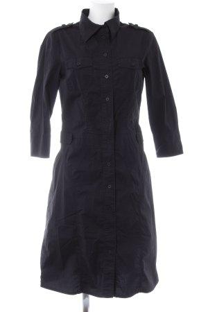 Esprit Hemdblusenkleid schwarz schlichter Stil