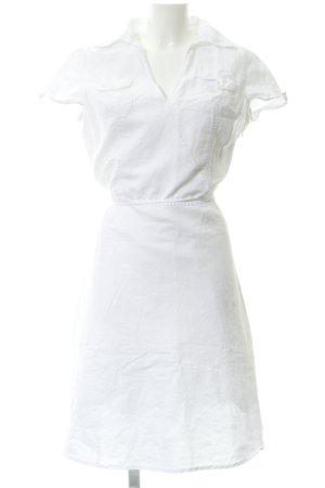 Esprit Abito blusa camicia bianco stile spiaggia