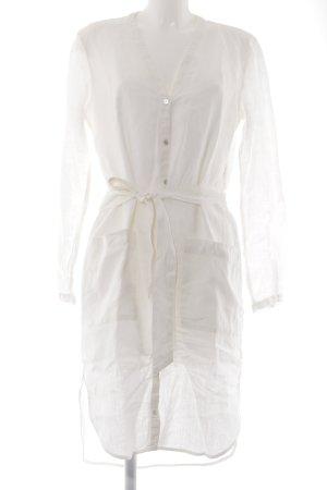 Esprit Robe chemise blanc cassé style décontracté