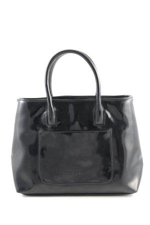 Esprit Bolso barrel negro estilo «business»