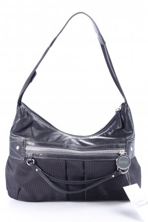 Esprit Carry Bag black-silver-colored casual look