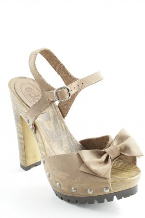 Esprit High Heel Sandal sand brown-light brown casual look