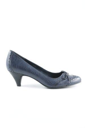 Esprit High Heels dunkelblau Elegant
