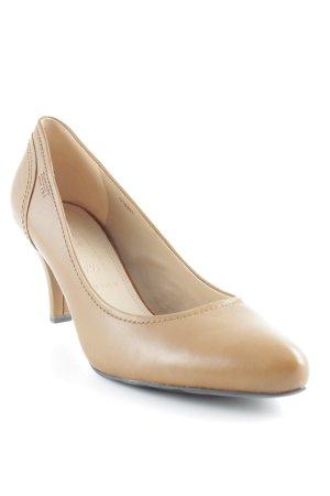 Esprit High Heels hellbraun Casual-Look