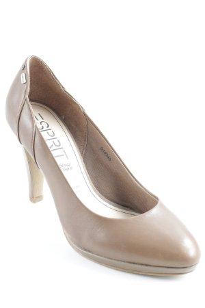 Esprit High Heels hellbraun Elegant