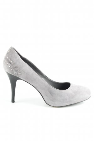 Esprit High Heels silberfarben-grau Schmuck-Applikation