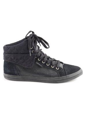 Esprit High Top Sneaker schwarz sportlicher Stil