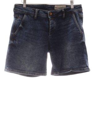 Esprit Hoge taille broek blauw casual uitstraling
