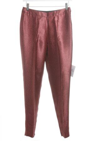 Esprit Hoge taille broek roodbruin elegant