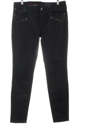 Esprit Hoge taille jeans zwart zakelijke stijl