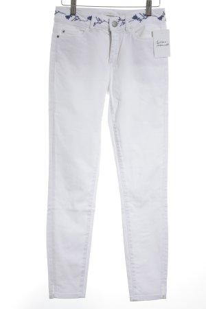 Esprit High Waist Jeans wollweiß-stahlblau Casual-Look