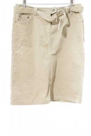 Esprit High Waist Rock camel Casual-Look