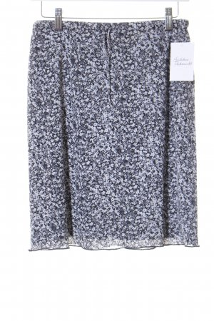 Esprit High Waist Rock florales Muster Street-Fashion-Look