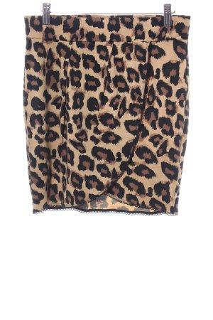 Esprit High Waist Skirt leopard pattern extravagant style